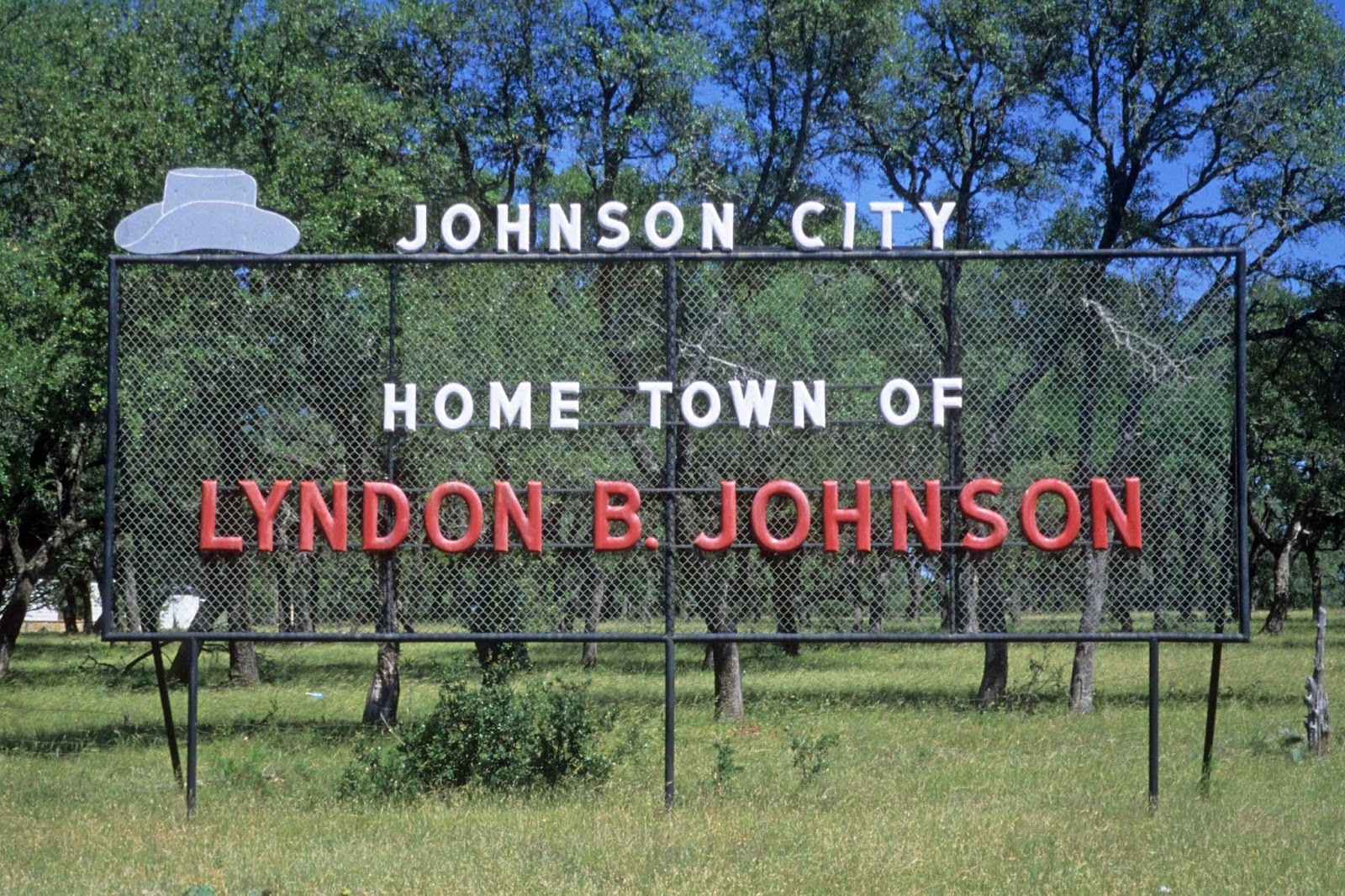 Johnson City (TX) United States  City new picture : ... sign welcome to johnson city texas 2003 home town of lyndon b johnson
