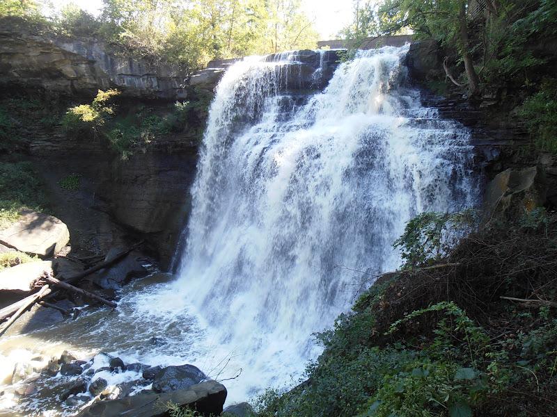 Travel journal cuyahoga valley national park brandywine falls