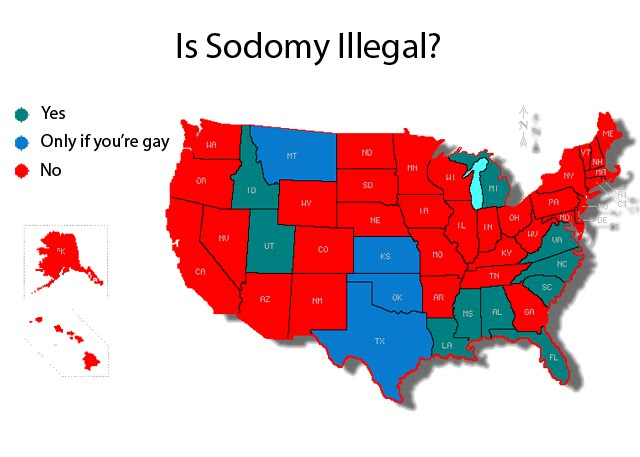 sodomy map She's the one that had hardcore anal sex with Steve.