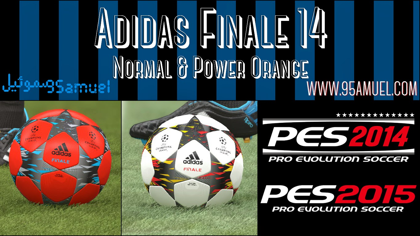 PES 2014 / 2015 Adidas Finale 14 Ball by Samuel Cannavaro