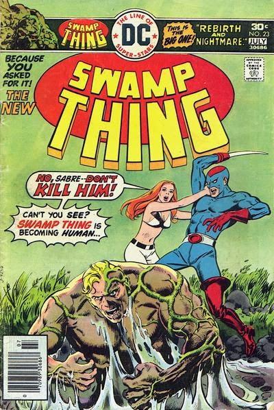 Swamp-Thing #23, Nestor Redondo