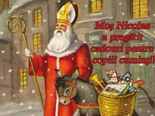 Cum arata Mos Nicolae?