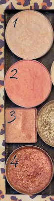 Peaches: Clinique, MAC, Coastal Scents