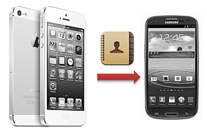 transfer iphone contacts android