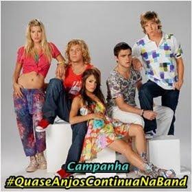 #QuaseAnjosContinuaNaBand