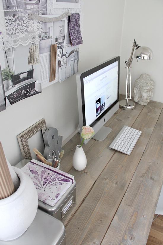 My new feminine home office stylizimo for Feminine home office