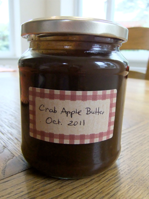 Autumn recipe: Spiced Crab Apple Butter with Cinnamon & Nutmeg. Use as ...