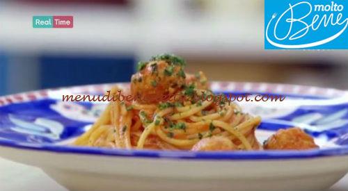 Spaghetti and fishballs ricetta Parodi per Molto Bene
