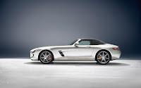 Mercedes-Benz SLS AMG Roadster side