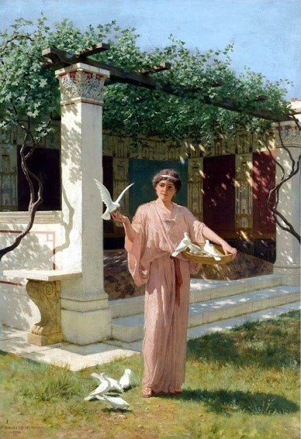 Stepan Vladislavovich Bakalovich: Feeding the doves