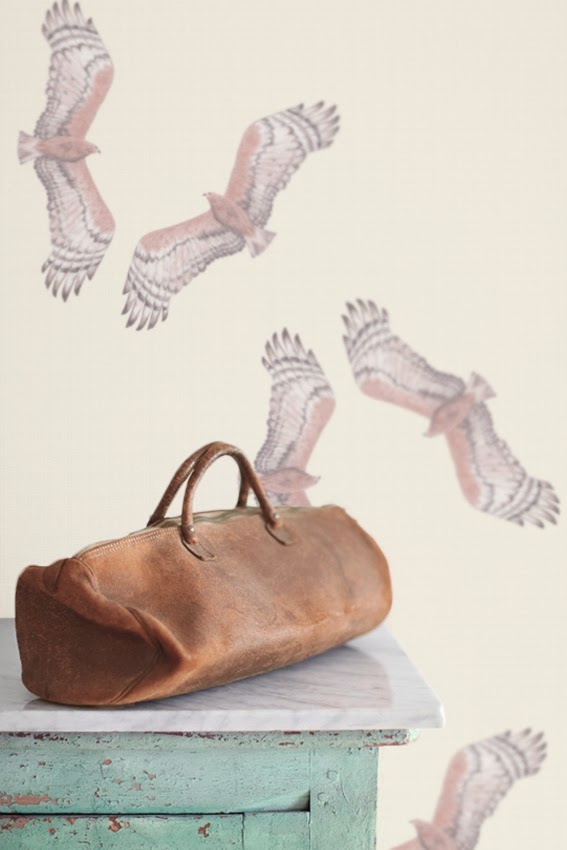 Muskwood Wallpaper and Textiles Australia - Birds of Prey