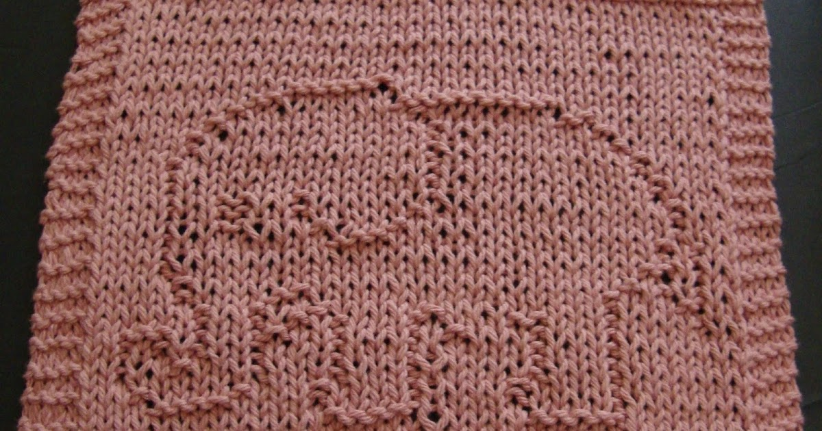 DigKnitty Designs: Another Elephant Knit Dishcloth Pattern