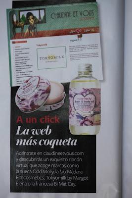 En In Style. Septiembre 2011