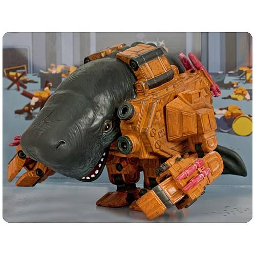 Mechawhales action figure