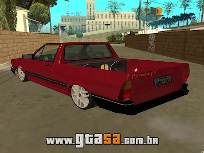Vw Saveiro GL 1989 Edit para GTA San Andreas