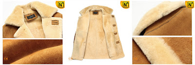 Genuine Lamb Fur Coat for Men