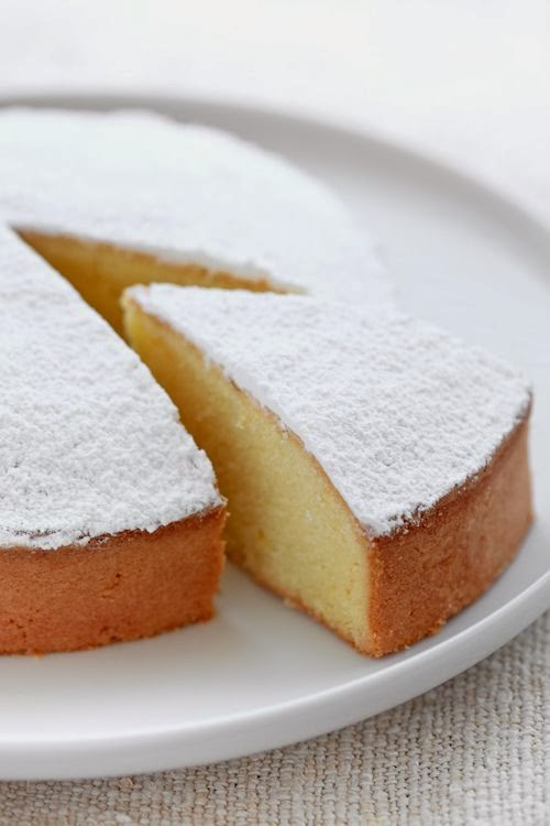 torta paradiso senza burro / soft italian cake without butter