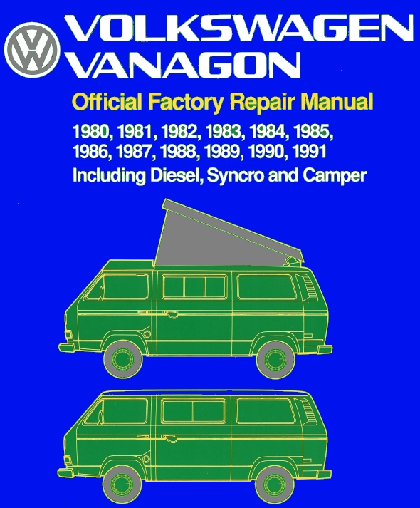 Bentley Manual Vanagon Pdf