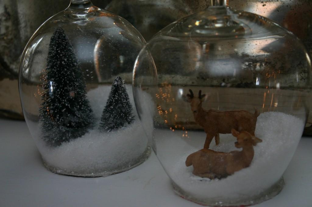снежные шар с фото