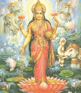 La Diosa Lakshmi