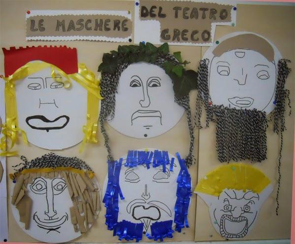 Lozainetto Le Maschere Del Teatro Greco