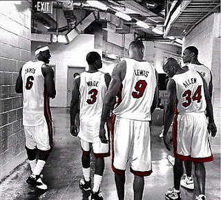 ray allen rashard lewis lebron wade