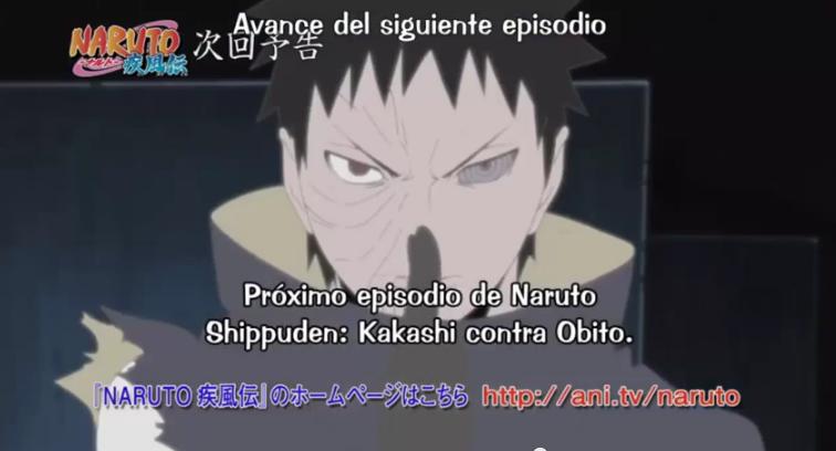 Naruto Shippuden Capítulo 375