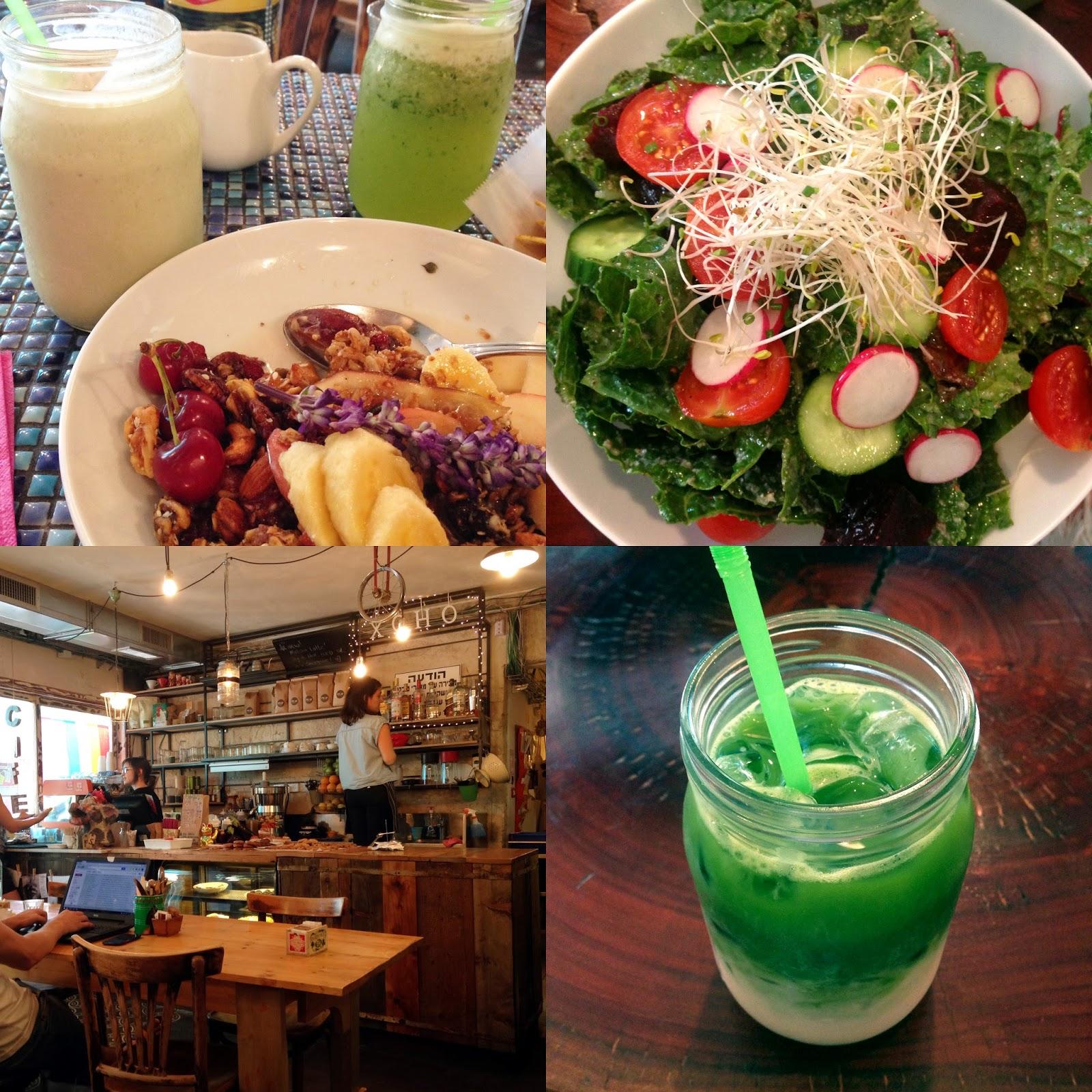 Cafe Xoho Menu