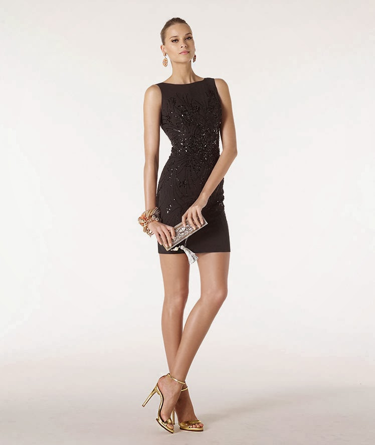 Comprar vestido negro boda