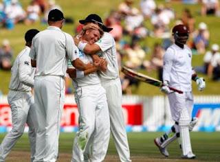 New Zealand vs West Indies 3rd test 2013 Scorecard, West Indies vs New Zealand 2013 match result,