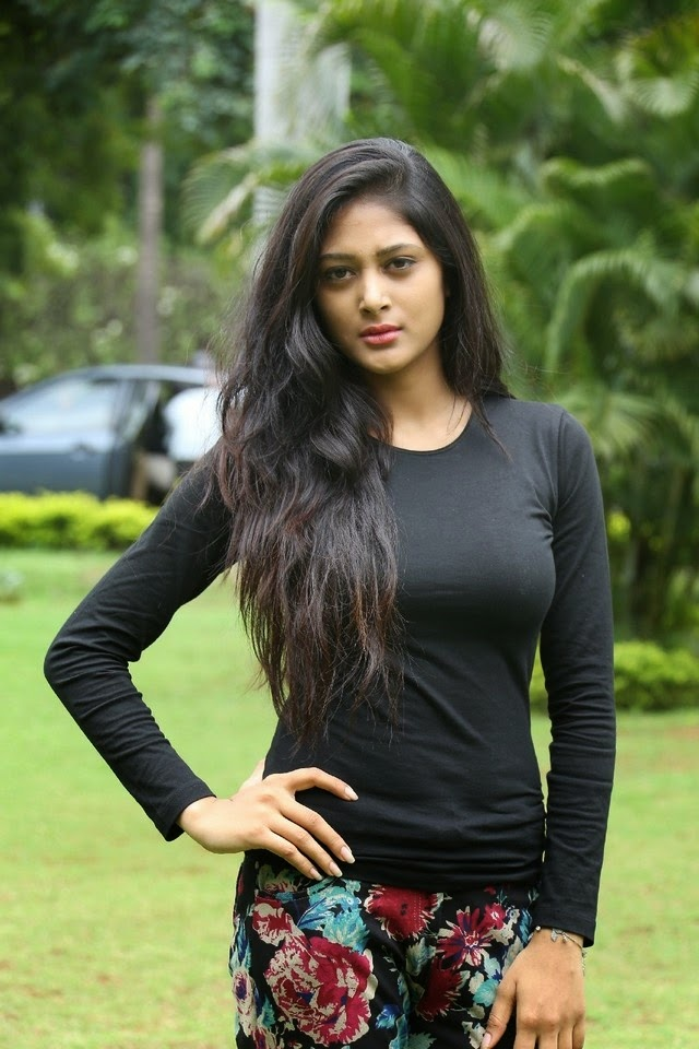 Sushma Raj New Spicy Stills In Black Top