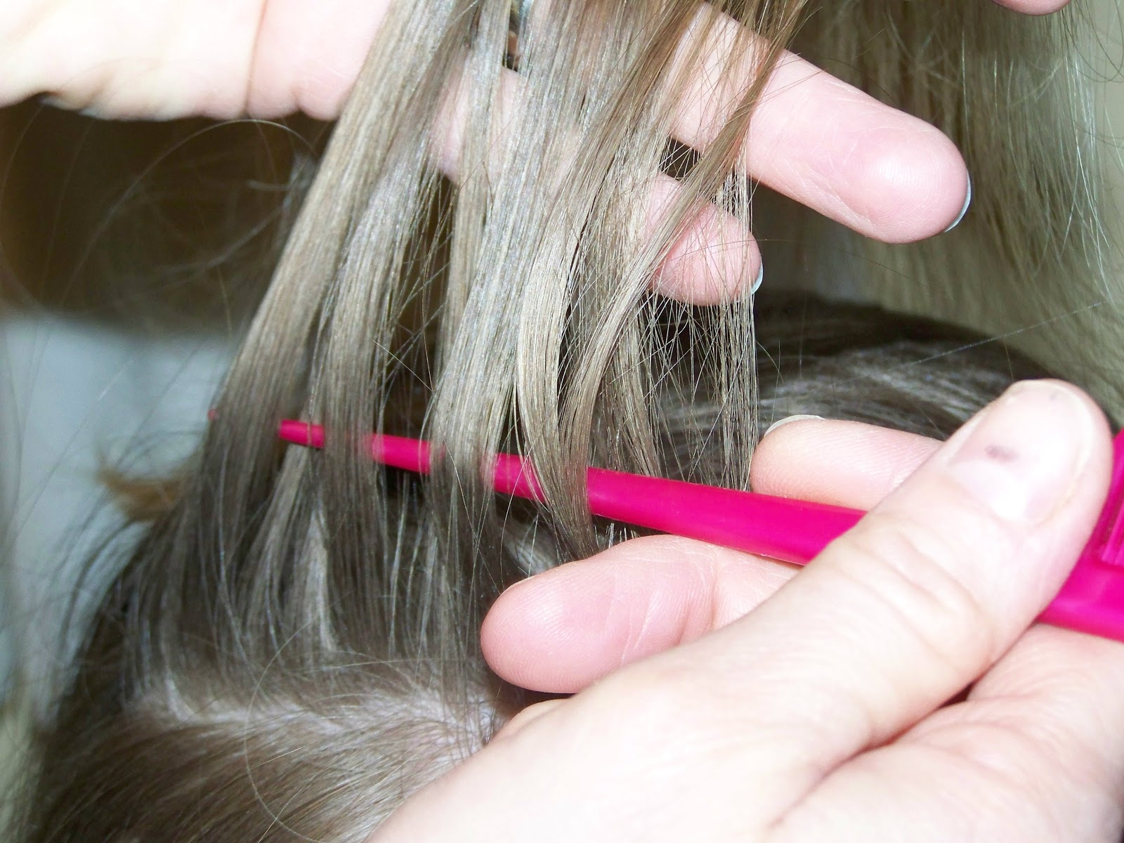 Poppy juice do it yourself hair color weave or highlights 3 section off strip of hair with rat tail comb and use tail to weave hair as shown in this photo pmusecretfo Choice Image