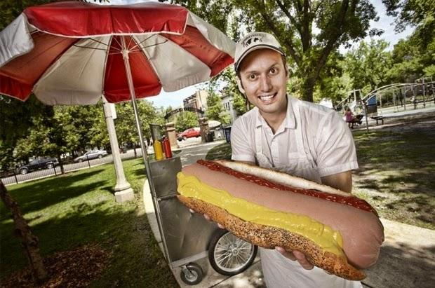 hot dog terbesar dunia