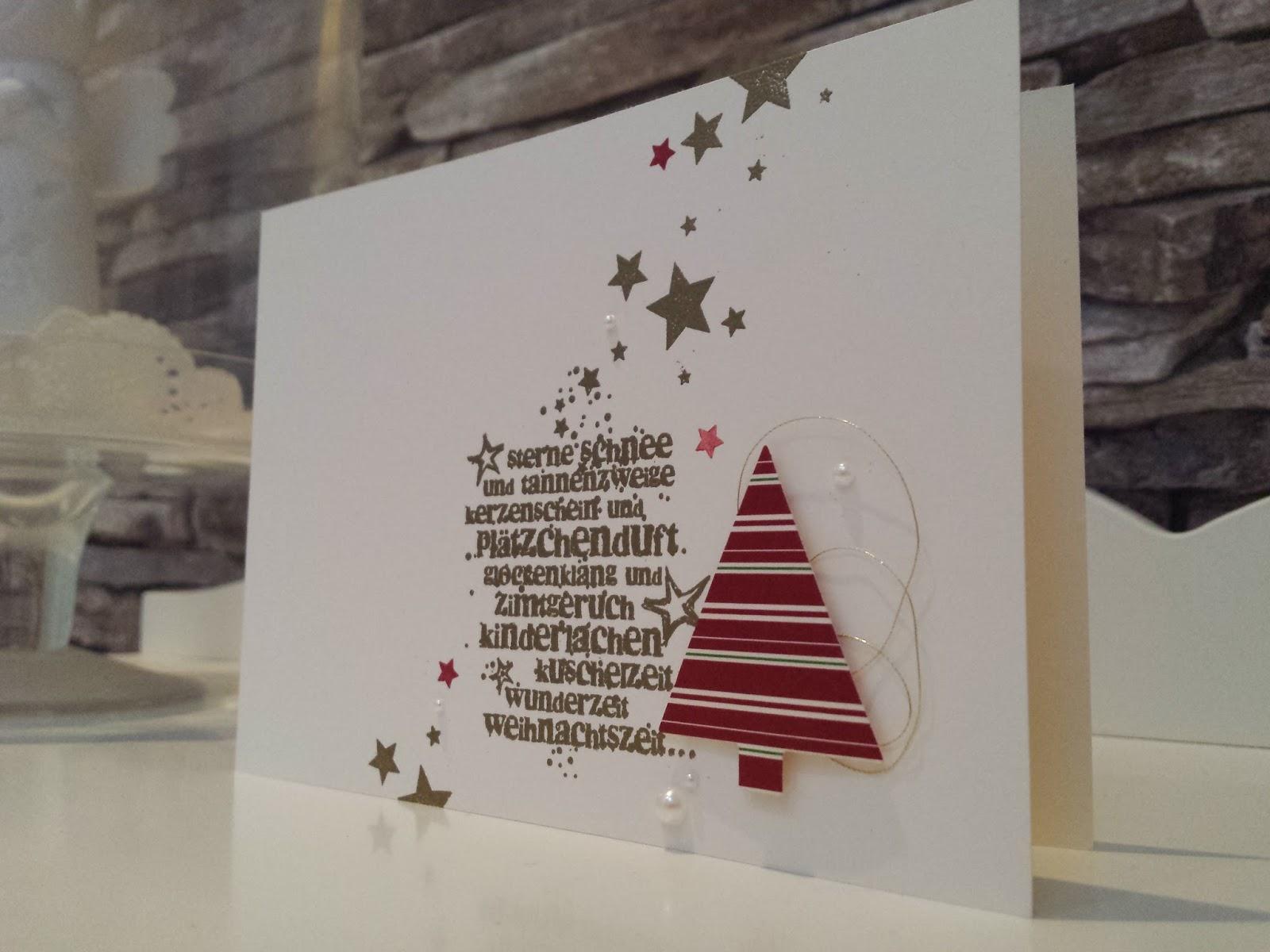 Kreativ zauberland weihnachtskarten part 2 for Weihnachtskarten kreativ
