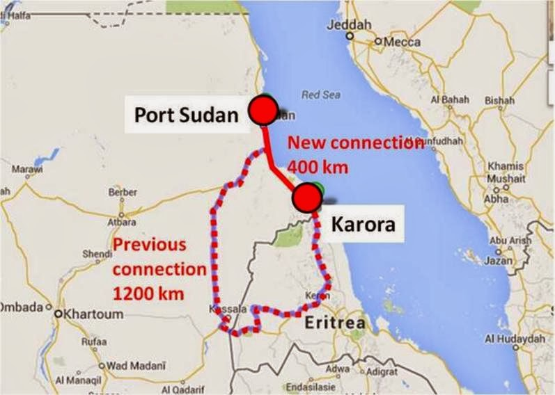 New SudaneseEritrean highway reduces road travel significantly Madote