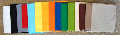 fabrics for Super Mario QAL