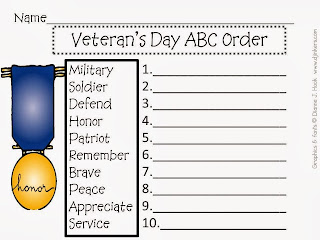 http://www.teacherspayteachers.com/Product/Super-Cute-Veterans-Day-Mini-Unit-396625