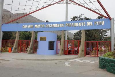 mejor colegio del perú