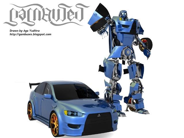 Tutorial Membuat Autobot Transformers In 3Ds Max