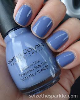 Pantone Serenity Nail Polish