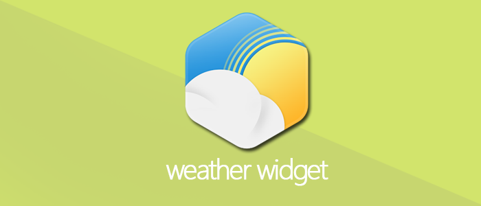 Free Weather widget for website
