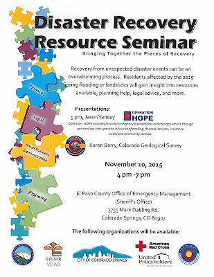 Disaster Recovery Resource Flyer