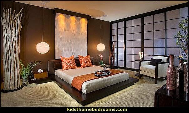 Decorating theme bedrooms Maries Manor oriental theme bedroom