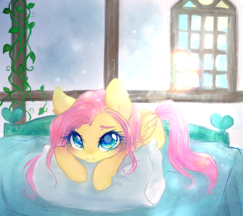 Fluttershy in the Morning