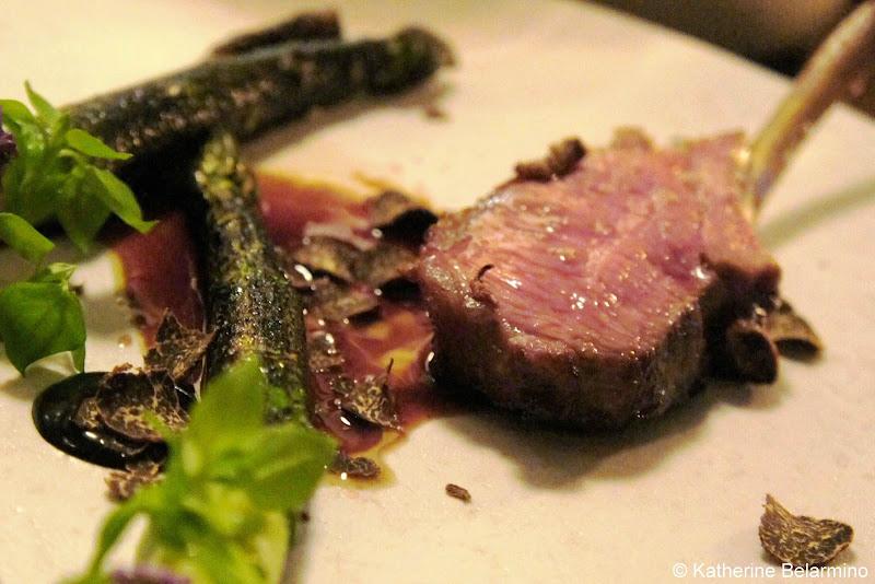 Glazed Lamb Grilled Asparagus Truffle Studio Copenhagen Denmark