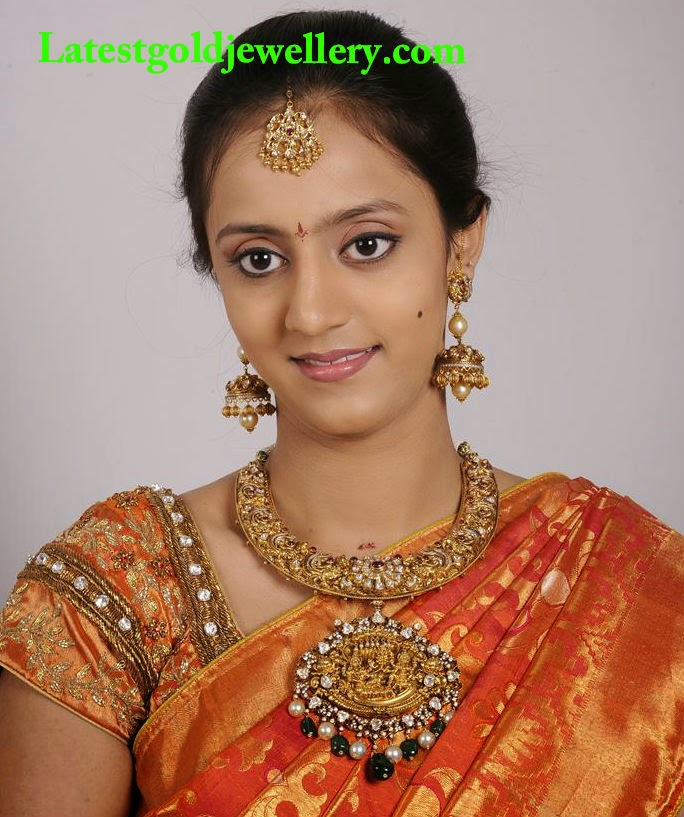 lakshmi pranathi wedding jewellery