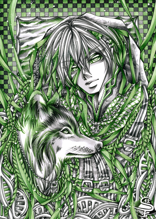 04-My-Guide-Sandra-Filipova-DarkSena-Manga-Black-and-White-and-Colour-Detailed-Drawings-www-designstack-co