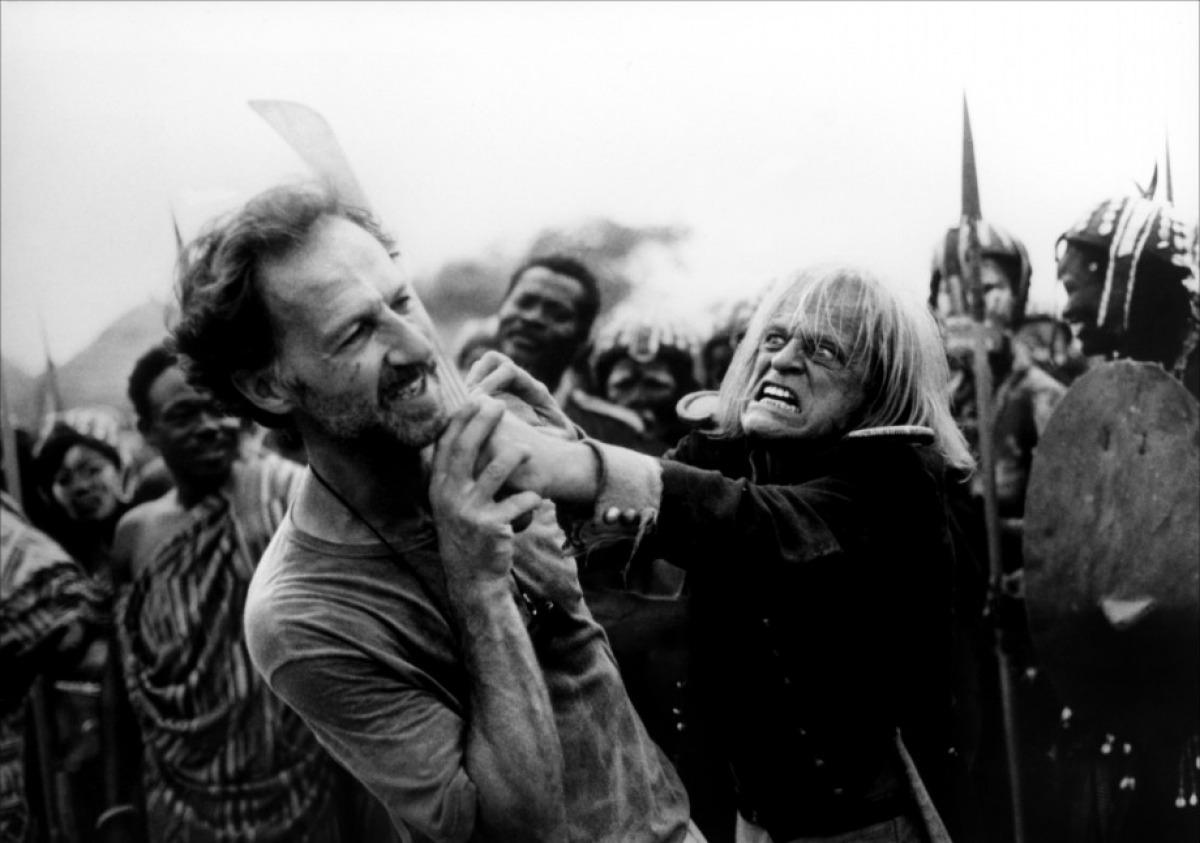 Werner Herzog e Klaus Kinski