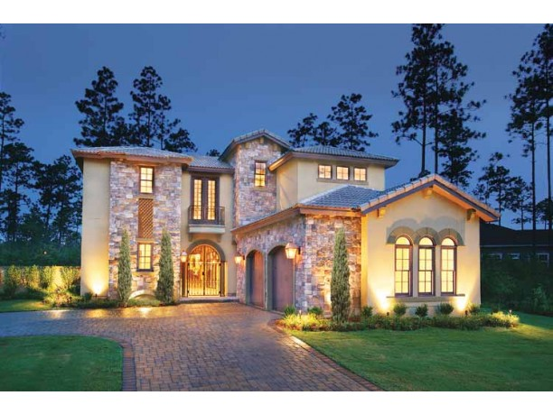 Mediterranean house plans dhsw53146 house building plans Architectural house plan styles