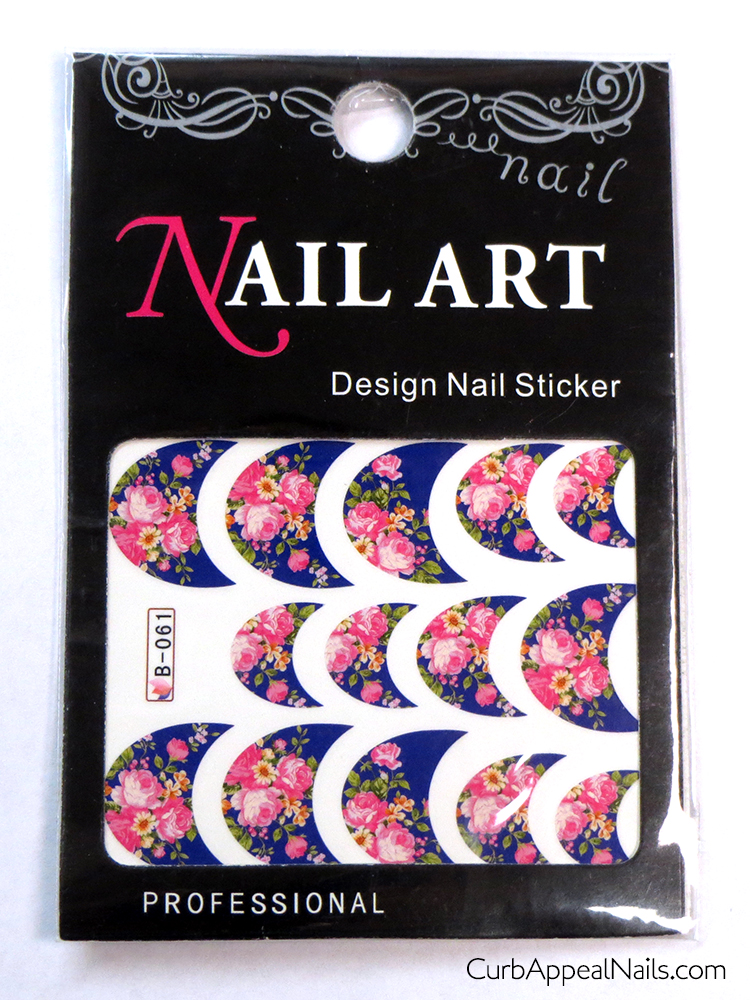 Born Pretty Store French Tip Water Decals Review